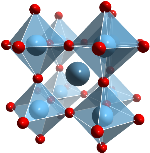 Perovskite Chemical Structure