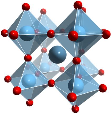 The parent perovskite calcium titanate