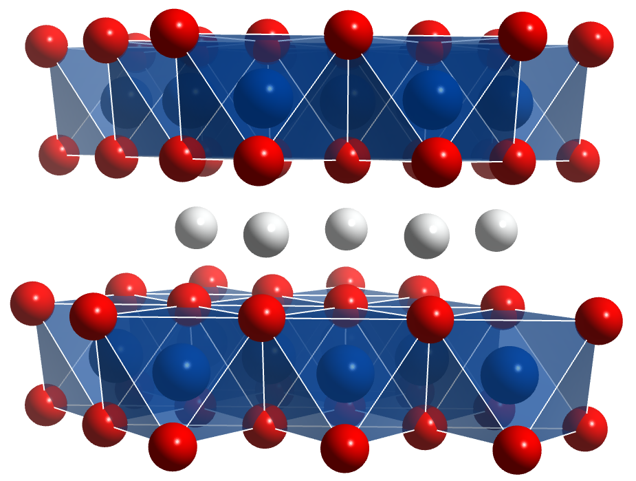 Lithium Cobaltate – Chemical Structure