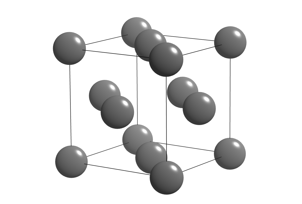 Magnesium and aluminum chemical structure the face centered cubic unit cell of aluminum ccuart Image collections